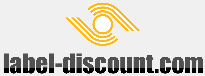 label-discount shop logo